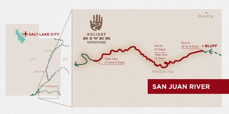 San Juan River Rafting Trip