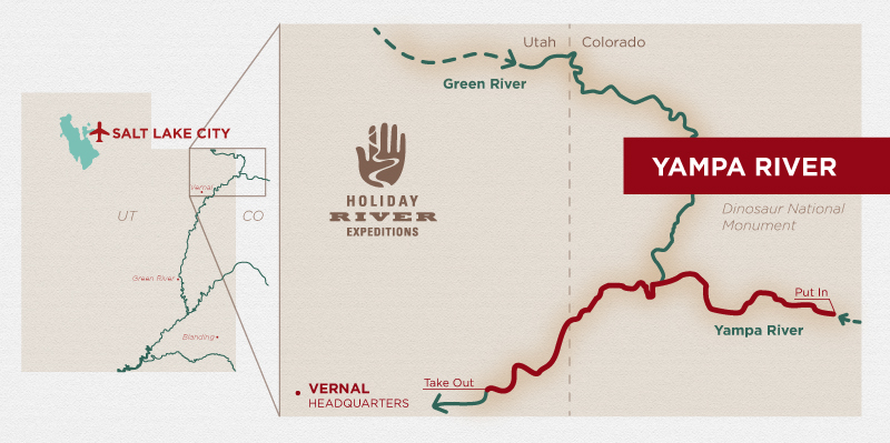Yampa River Rafting Colorado