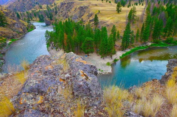 Idaho Middle Fork Bend
