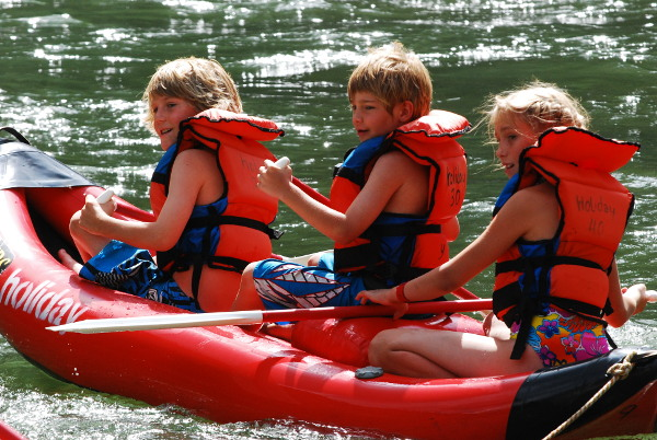 Main Salmon River Rafting Trips Kayak