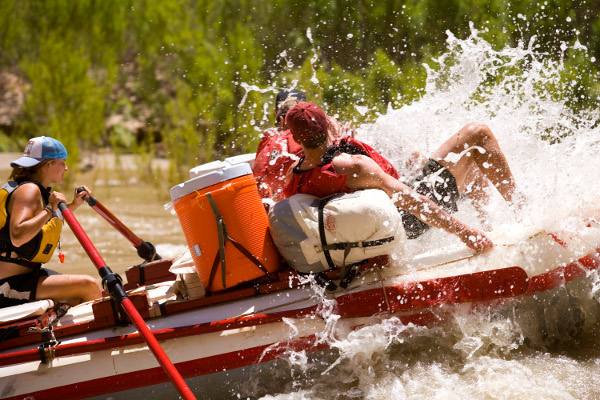 Rafting the San Juan River in Utah