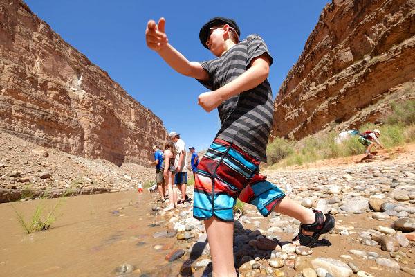 San Juan River Rafting Trips in Utah