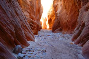 San Rafael Swell Slot Canyon - multi day mountain bike trip utah