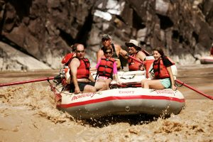 Westwater Whitewater Rafting Guests