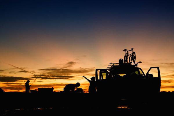 Canyonlands Bike trip Van