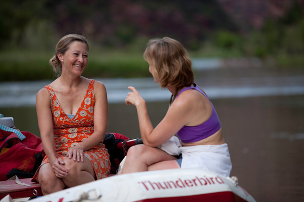 Womens River Rafting Trip