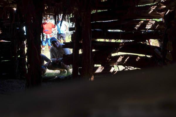 Yampa River Rafting trip Cabin