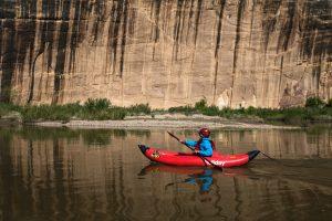 Yampa River Kayak Tiger Wall