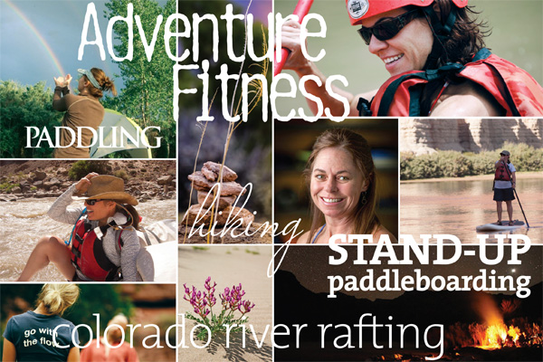 Adventure Fitness on the Colorado River with Kathleen