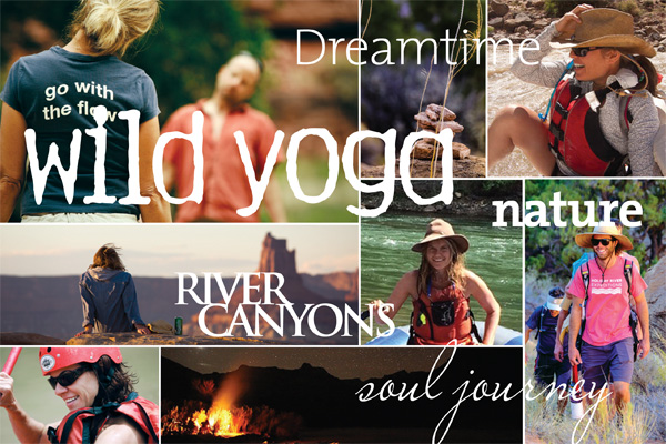 Wild Yoga on the River with Rebecca