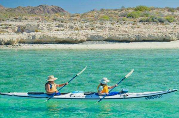 Kayaking Trip in Baja Mexico