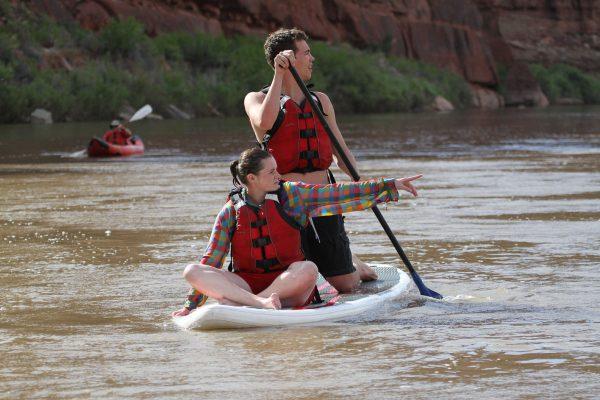 Colorado River through Cataract Canyon SUP