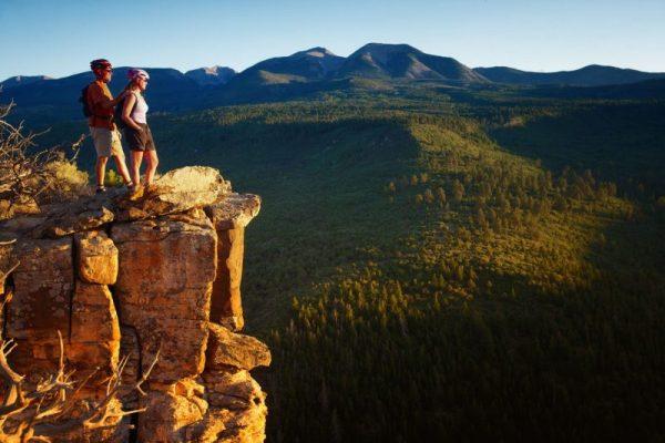 Moab Mountain Biking Scenery