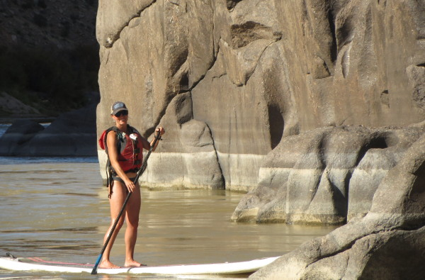 Colorado River SUP Yoga