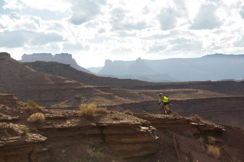 Moab Mountain Biking Trips Rock