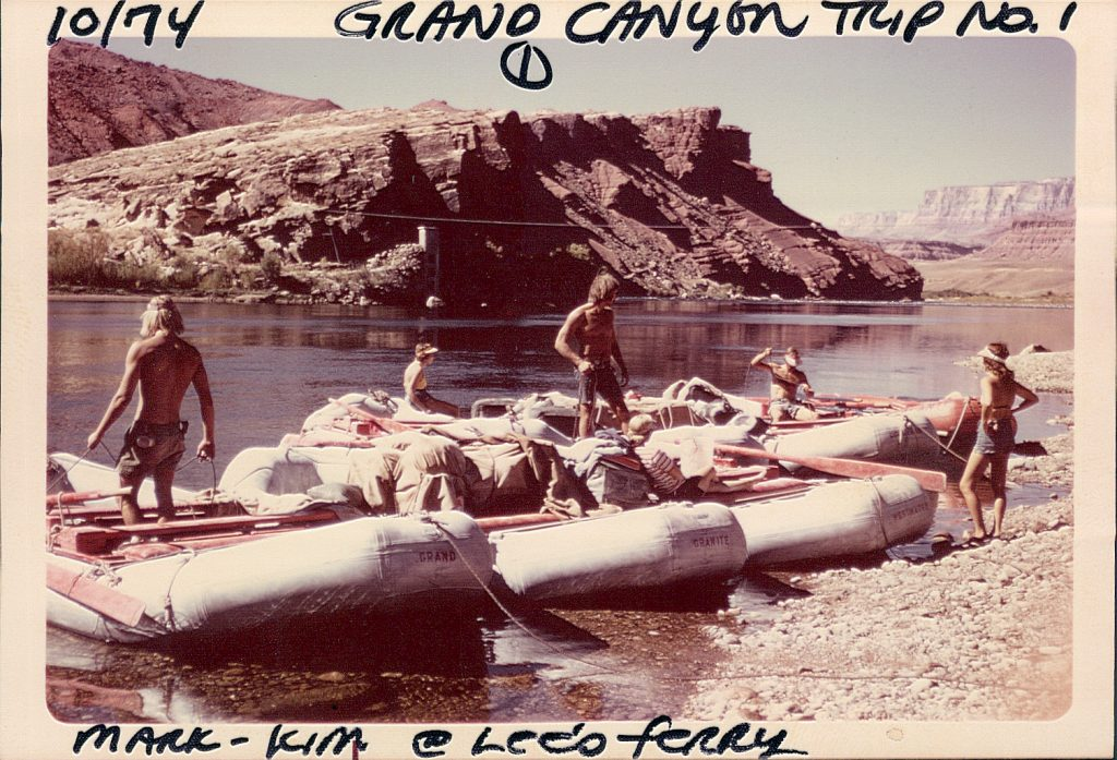 Retro Holiday River Rafting Boats