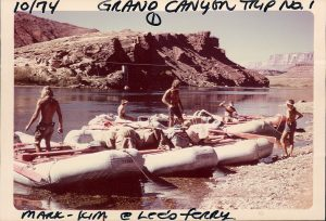 Retro Holiday River Rafting Boats