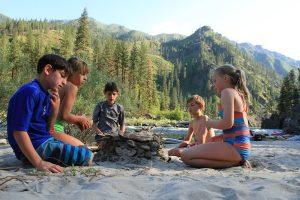 Main Salmon Sandy Beach Camps
