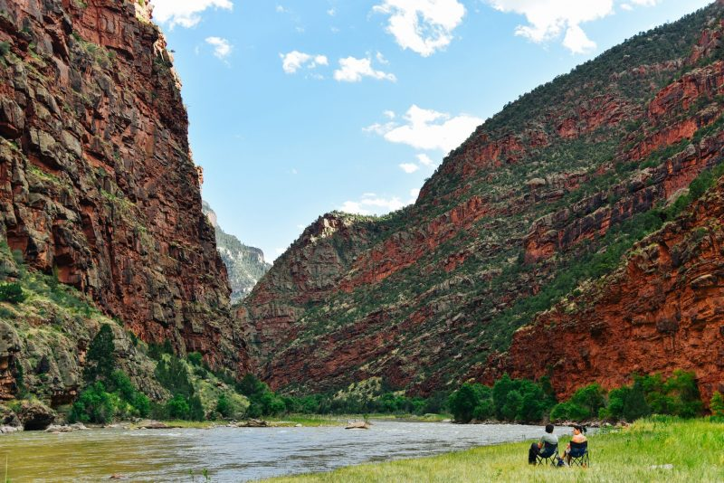 Rafting the Green River in Colorado