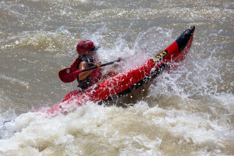 Convinced the rapids are the most fun