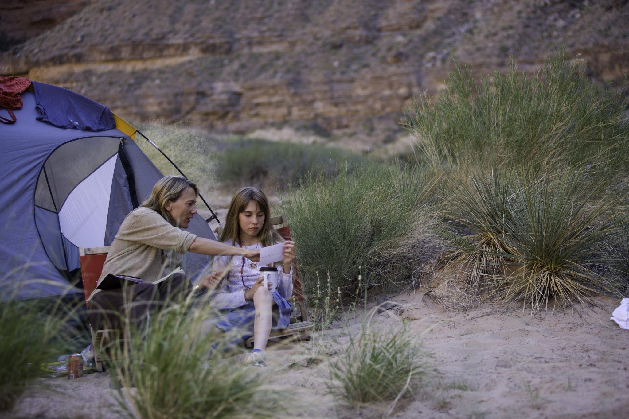 Camping on the San Juan