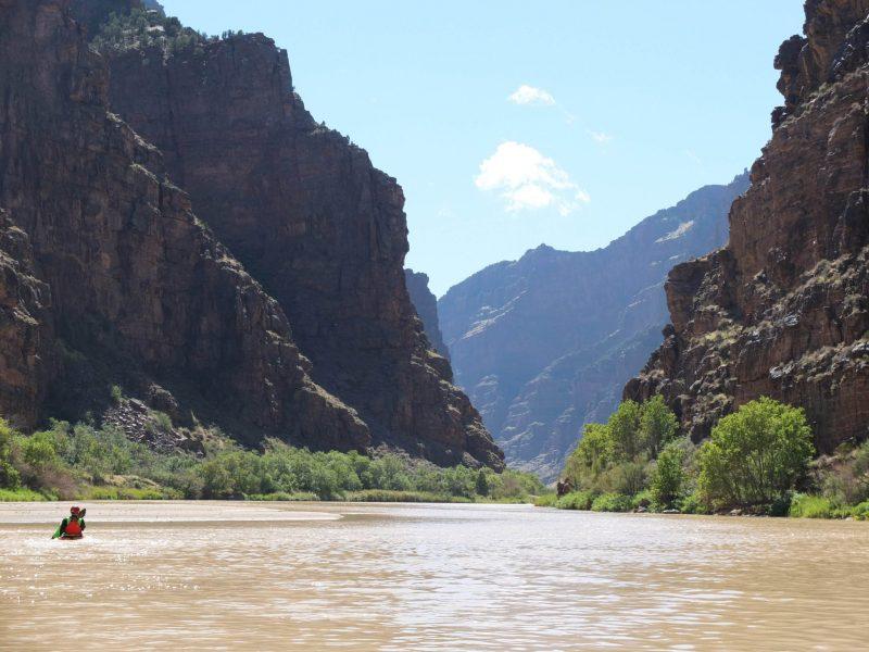 Kayaking Lodore Canyon