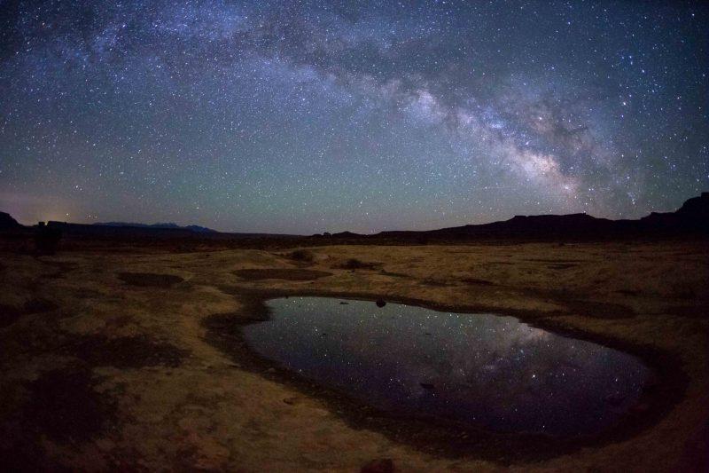 Stargazing Reflections Canyonlands