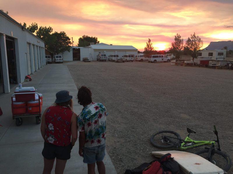 Warehouse Sunset