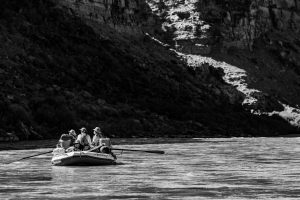 Black And White Rafting