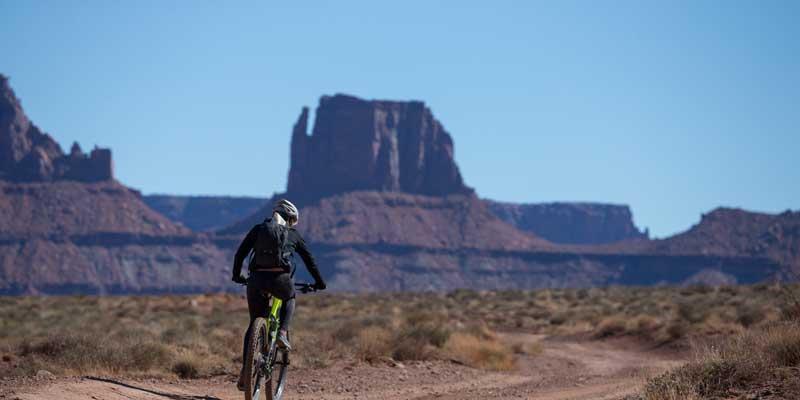 Biking the White Rim Trail