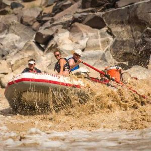 Whitewater Rapids on the Colorado River