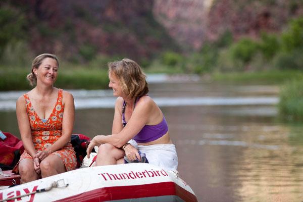 women's river & yoga trip