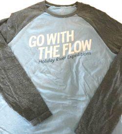 Go with the Flow Baseball Tee