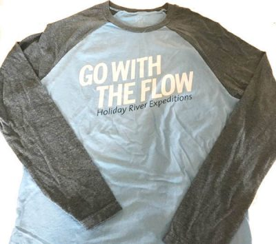Go with the Flow Baseball Tee