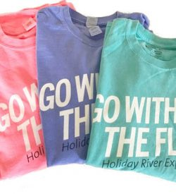 Go With the Flow LS Sleeve Old School