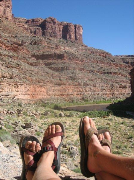 Feet on San Juan