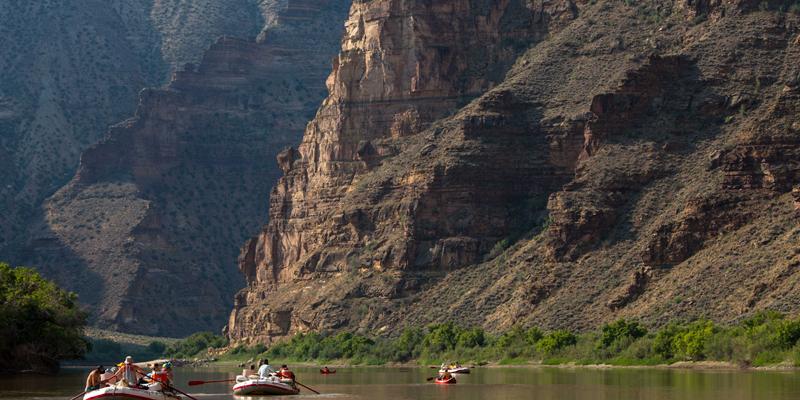Green River Rafting through Desolation Canyon