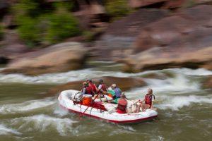 Oar Raft Lodore Canyon