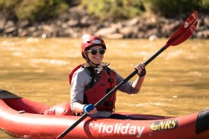 Prepared Kayaker