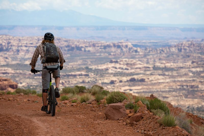 Riding the White Rim