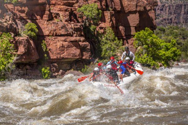 Paddle Raft White Water