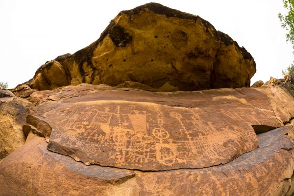 Petroglyphs in Desolation