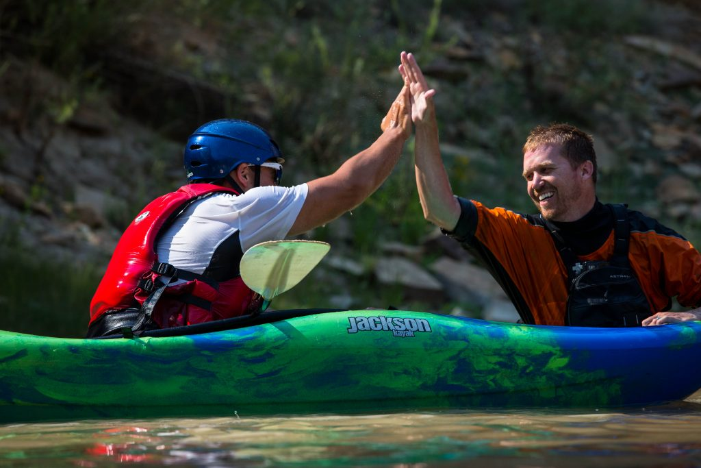 Kayak Workshop on the Green River in Utah