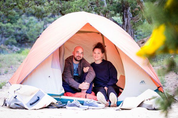 Yampa Retro River Camping