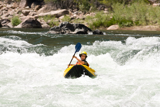 Middle Fork Kayaker is another place to go white water rafting