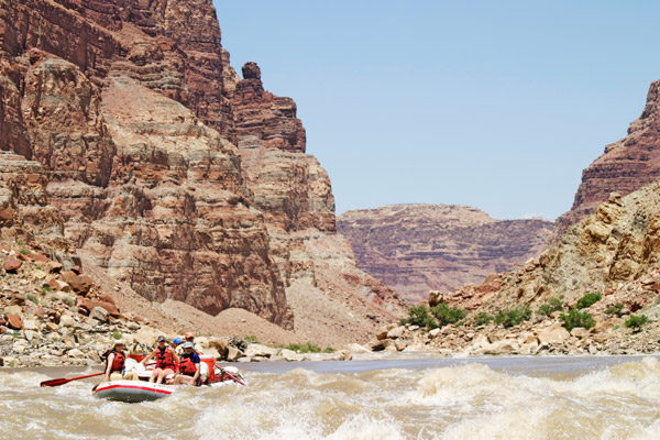 Colorado River Rafting is where to go whitewater rafting