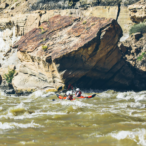 Green River Rafting through Desolation Canyon BLM Land