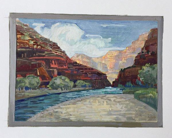 Michal Onyon Watercolor