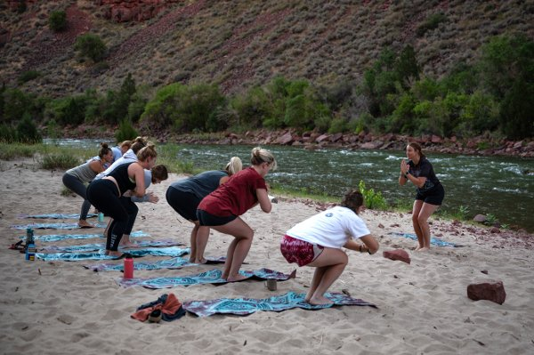Womens River and Yoga Trip