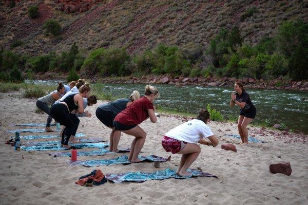 Women's River Rafting & Yoga Trip